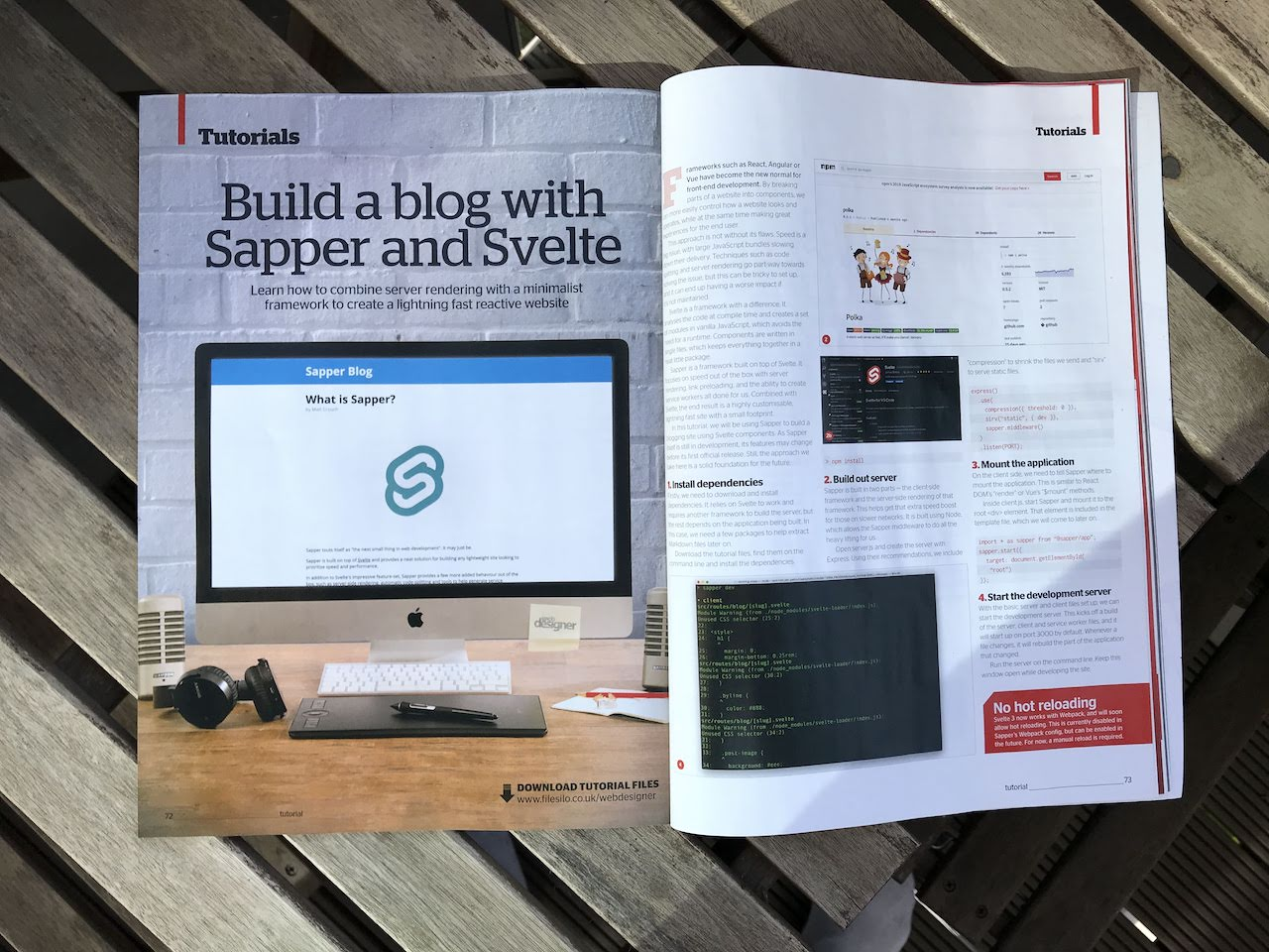 Build a blog with Sapper and Svelte